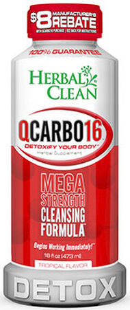 Herbal Clean QCarbo16™ 16 oz. Liquid Tropical