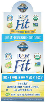 Garden of Life RAW Fit Protein Packets Vanilla