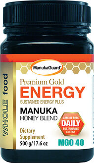 ManukaGuard® Premium Gold Energy Manuka Honey Blend MGO 40