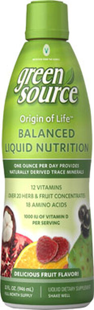 Vitamin World Origin of Life Complete Liquid Vitamins 32 oz. Liquid Fruit