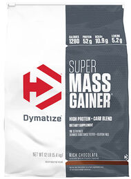 Dymatize Super Mass Gainer Rich Chocolate 12 lbs. 12 lbs. Powder