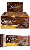 Quest Bars Chocolate Brownie, , hi-res