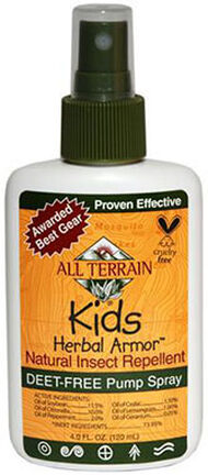 Spray All Terrain Kids Herbal Armor Natural DEET-free Insect Repellent 8 oz. Spray