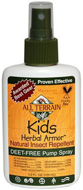 Kids Herbal Armor Natural DEET-free Insect Repellent