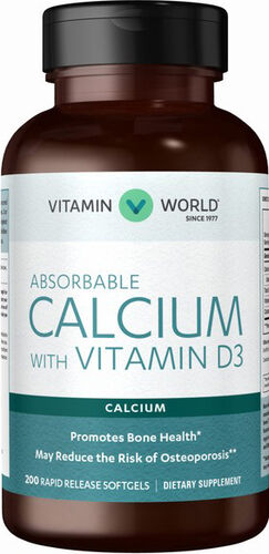 Absorbable Calcium with Vitamin D3, , hi-res
