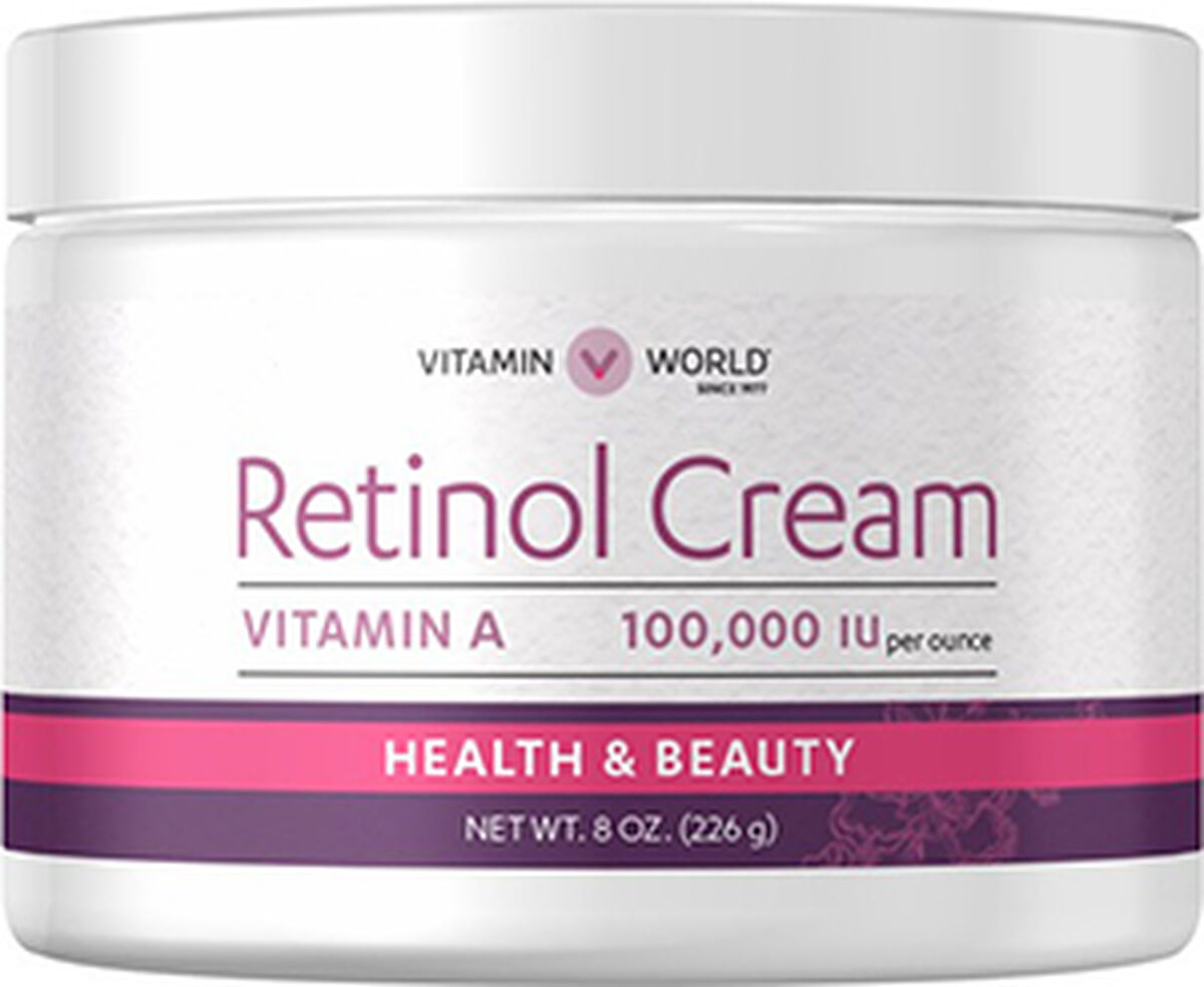 Retinol Cream | Vitamin A Retinol Cream to Support Healthy Skin | Vitamin World | Tuggl