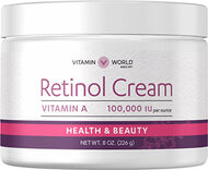 Retinol Cream 100,000 IU, 8 oz., hi-res