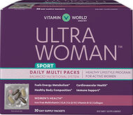 Vitamin World Ultra Woman™ Sport Daily Multivitamin Packs 30 Packets