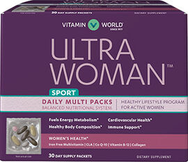 Ultra Woman™ Sport Daily Multivitamin Packs
