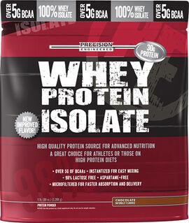 Whey Protein Isolate Chocolate 5 lbs.