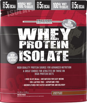 Whey Protein Isolate Chocolate 5 lbs., , hi-res