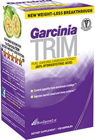 BioGenetic Laboratories Garcinia Trim 750 mg. 120 Capsules