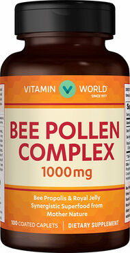 Bee Pollen Complex 1,000 mg., , hi-res