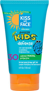Obsessively Kids® Defense™ Mineral Sunscreen, , hi-res