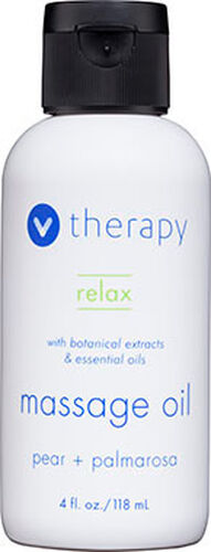 V Therapy Relax Massage Oil 4 oz. Oil