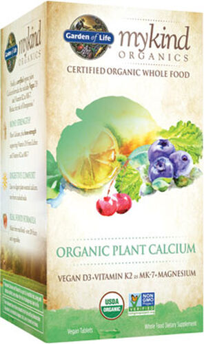 Garden of Life mykind Organics Plant Calcium 90 tablets | Vitamin World