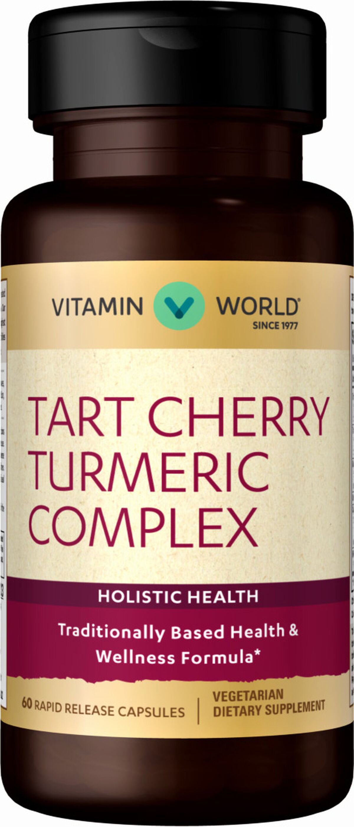 Tart Cherry Turmeric Complex | Vitamin World | Tuggl