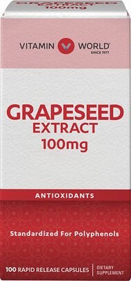 Grapeseed Extract 100 mg.