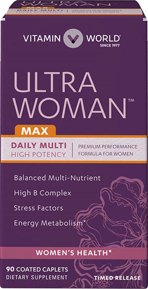 Vitamin World Ultra Woman™ Max Daily Multivitamins 90 Caplets