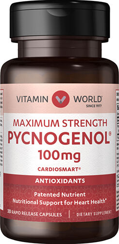 Vitamin World Pycnogenol® 100 mg. 30 Capsules