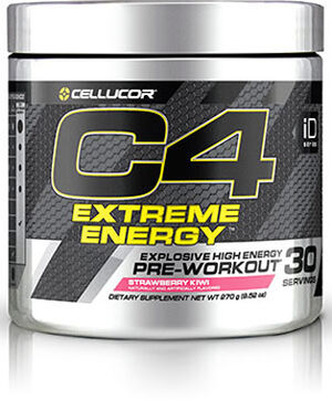 Cellucor® C4® Extreme Energy Preworkout 9.52 oz. Strawberry Kiwi