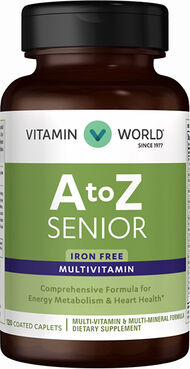 Vitamin World ABC Plus® Senior Multivitamins 120 Caplets