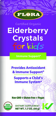 Flora Elderberry Crystals for Kids
