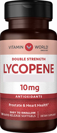 Vitamin World Lycopene 10 mg. 100 Softgels
