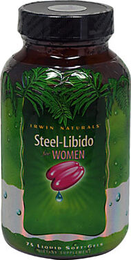 Irwin Naturals Steel-Libido® for Women 75 Softgels