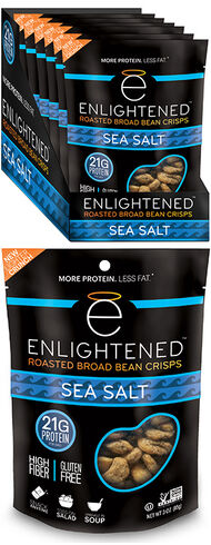 Enlightened Bean Crisps Sea Salt, , hi-res