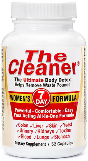 Century Systems The Cleaner® 7 Day Women's Formula 52 Capsules