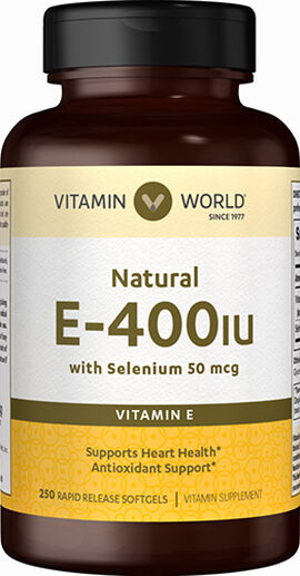 Vitamin E 400 IU with Selenium