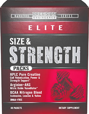 Precision Engineered® Elite Size & Strength Packs 40 Packets