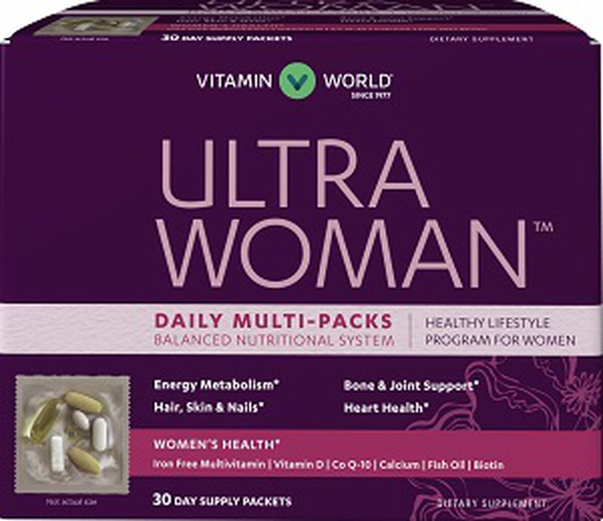 Ultra Woman™ Daily Multivitamin Packs | Women's Vitamins ...