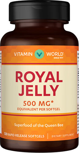 Vitamin World Royal Jelly 500mg Bee Products