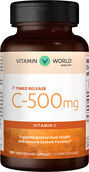 Vitamin World Vitamin C-500 Time Release