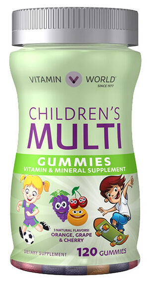 Children's Multivitamin Gummies, 120, hi-res
