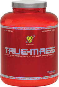 BSN TRUE-MASS® Vanilla 6 lbs. Powder