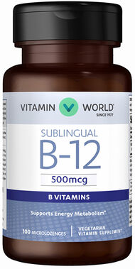 Vitamin B-12 500 mcg. Sublingual, , hi-res