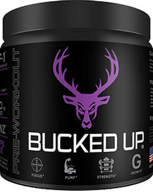 DAS Labs Bucked Up™ Pre Workout Grape Gainz 11.4 oz. Powder