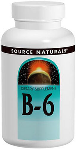 Source Naturals Vitamin B-6 500 mg. 100 Tablets
