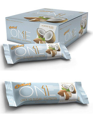 OhYeah! Nutrition OhYeah! ONE Bars Almond Bliss 12 Bars