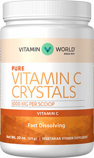 Vitamin World Vitamin C Crystals 5000 mg. 20 oz. Crystals
