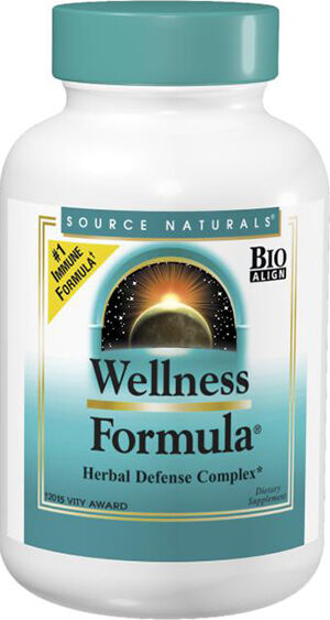 Source Naturals Wellness Formula 90 Tablets
