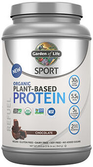 Garden Of Life Sport Organic Plant-Based Protein Chocolate 1.14 lbs. 1 lbs. Powder