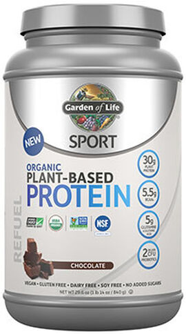 Sport Organic Plant-Based Protein Chocolate 1.14 lbs.