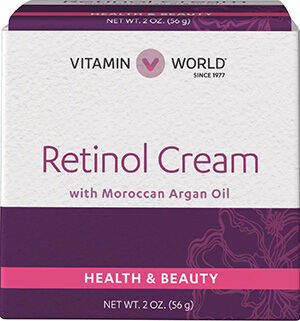 Vitamin World Retinol Cream With Moroccan Argan Oil
