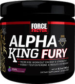 Force Factor Alpha King Fury Grape 6.3 oz. Powder
