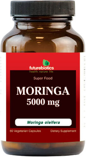 Futurebiotics Moringa 5000 mg. 60 Capsules