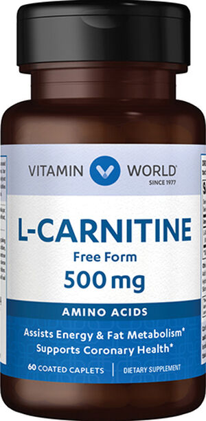 L-Carnitine 500mg., 60, hi-res
